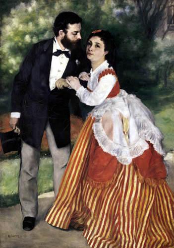 Pierre Auguste Renoir - Die Verlobten