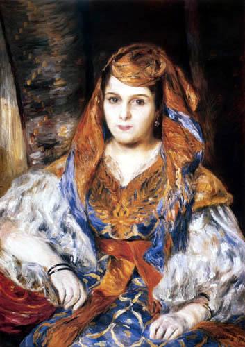 Pierre Auguste Renoir - The Algerian