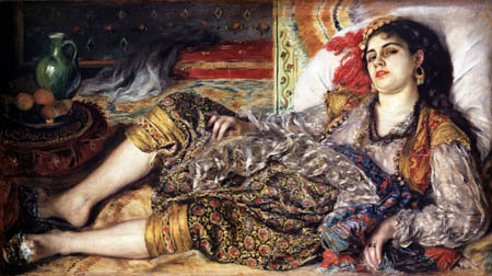 Pierre Auguste Renoir - Odalisque - The Algerian