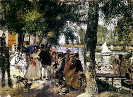 Pierre Auguste Renoir - La Grenouillère