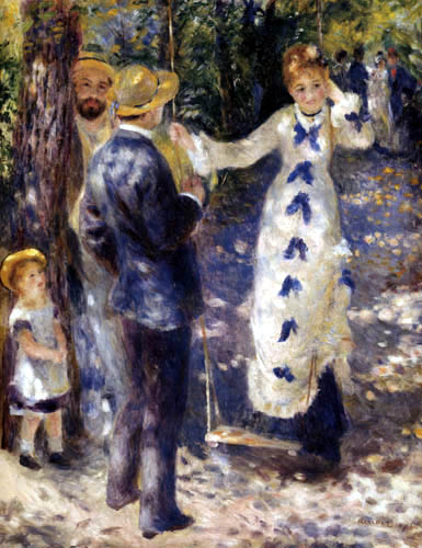 Pierre Auguste Renoir - Swing