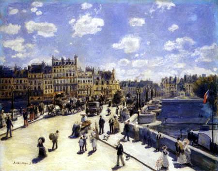 Pierre Auguste Renoir - Pont Neuf, Paris
