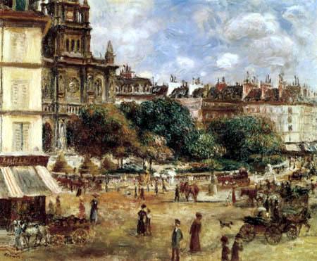 Pierre Auguste Renoir - Place de la Trinité