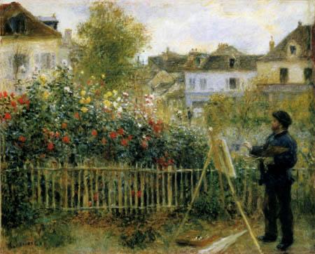 Pierre Auguste Renoir - Claude Monet, Argenteuil