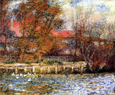 Pierre Auguste Renoir - The Duck Pond