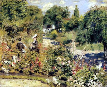 Pierre Auguste Renoir - Garden in Fontenay
