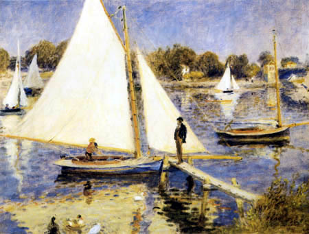 Pierre Auguste Renoir - The Seine near Argenteuil
