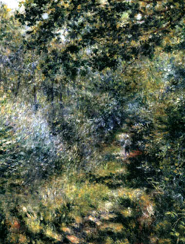 Pierre Auguste Renoir - Forest way