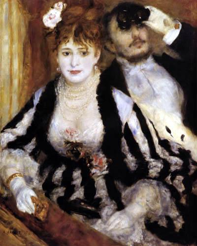 Pierre Auguste Renoir - In der Loge