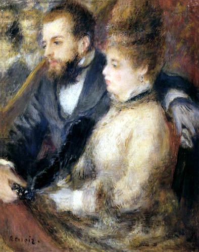 Pierre Auguste Renoir - In the Box
