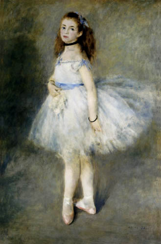 Pierre Auguste Renoir - The dancer