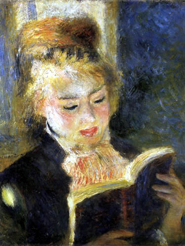 Pierre Auguste Renoir - Reading woman