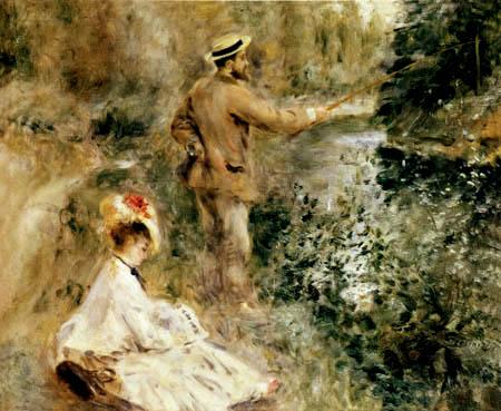 Pierre Auguste Renoir - Angler
