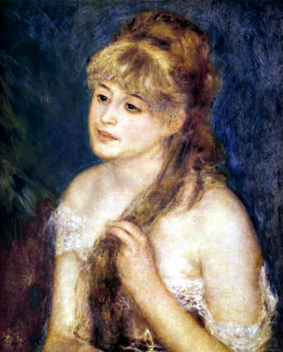 Pierre Auguste Renoir - Magnificent Hair