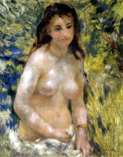 Pierre Auguste Renoir - Nude in sunlight