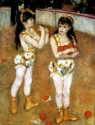 Pierre Auguste Renoir - Im Zirkus Fernando
