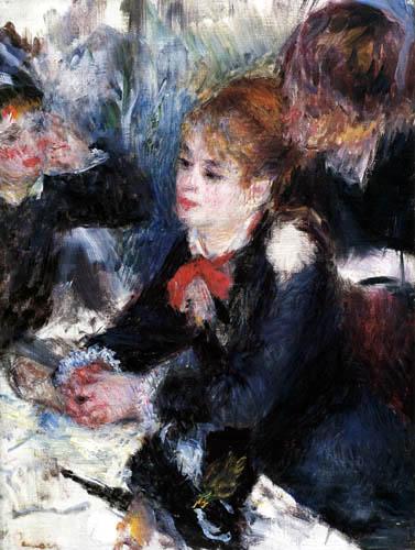Pierre Auguste Renoir - The Millinery Shop
