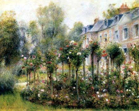 Pierre Auguste Renoir - Garden of Roses, Wargemont