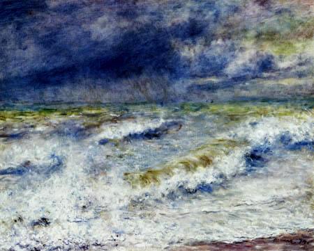 Pierre Auguste Renoir - The wave