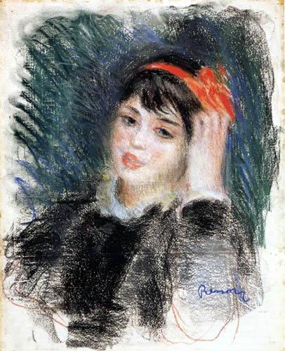 Pierre Auguste Renoir - Portrait of a Woman