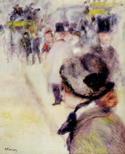 Pierre Auguste Renoir - Place Clichy