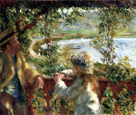 Pierre Auguste Renoir - On the sea