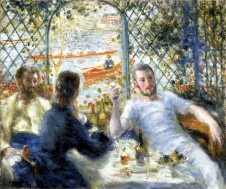 Pierre Auguste Renoir - Punt driver