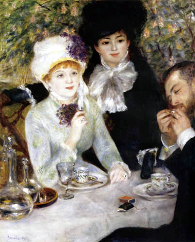Pierre Auguste Renoir - End of the meal