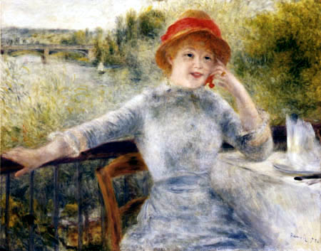 Pierre Auguste Renoir - Alphonsine Fournaise