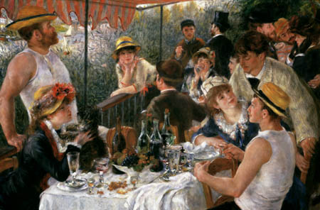 Pierre Auguste Renoir - The Luncheon of the Boating Party