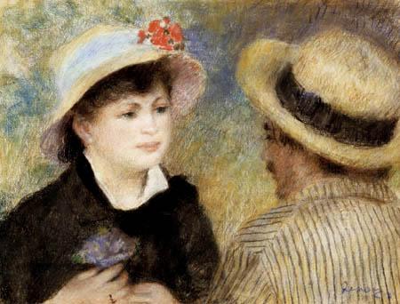 Pierre Auguste Renoir - Aline Charigot and Renoir