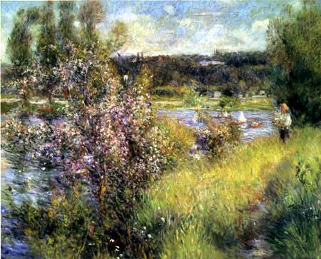 Pierre Auguste Renoir - The Seine near Chatou