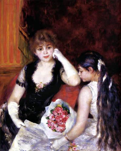Pierre Auguste Renoir - In an opera box