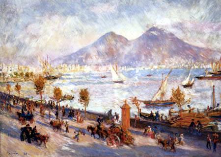 Pierre Auguste Renoir - The Vesuvius in the morning