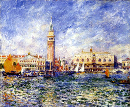 Pierre Auguste Renoir - Palace of Doge, Venice