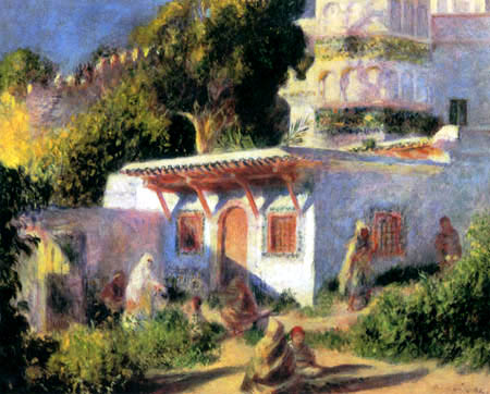 Pierre Auguste Renoir - Mosque in Algiers