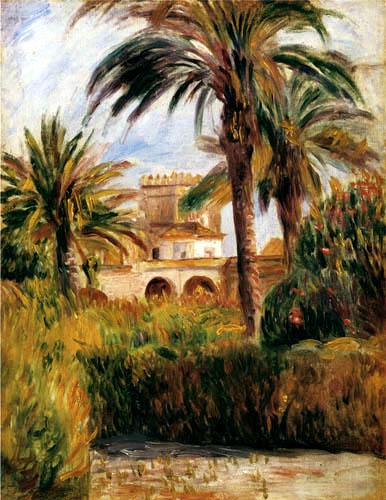 Pierre Auguste Renoir - Garden in Algiers