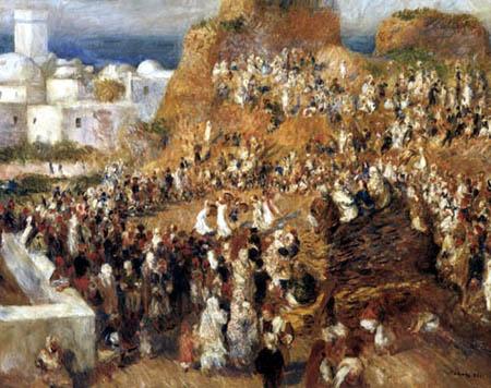 Pierre Auguste Renoir - Arabian celebration