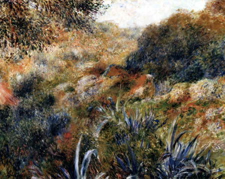 Pierre Auguste Renoir - A gorge in Algeria