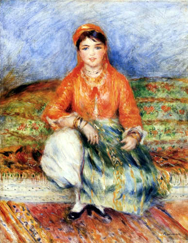Pierre Auguste Renoir - Algerian girl