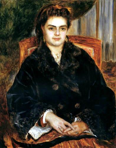 Pierre Auguste Renoir - Madame Marie Octavie Bernier