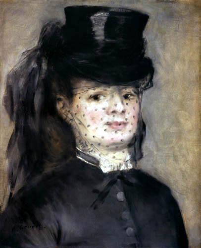 Pierre Auguste Renoir - Madame Darras als Amazone