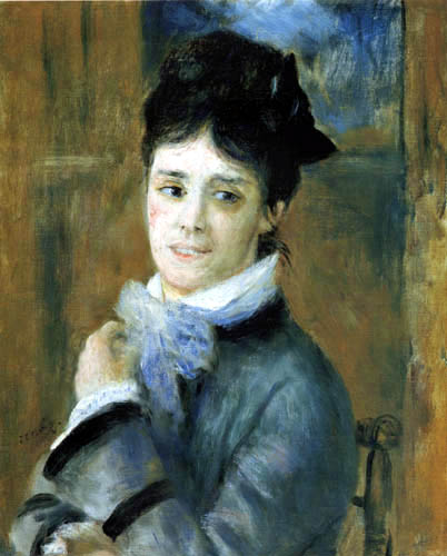 Pierre Auguste Renoir - Portrait of Camille Monet