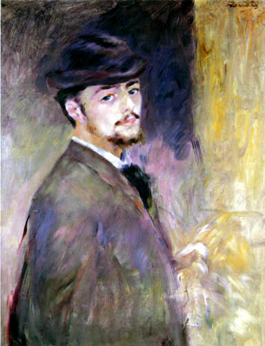 Pierre Auguste Renoir - Selfportrait, 35 years old