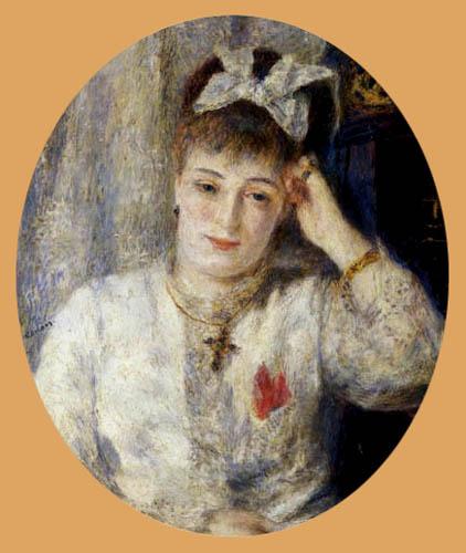 Pierre Auguste Renoir - Portrait of Marie Meunier