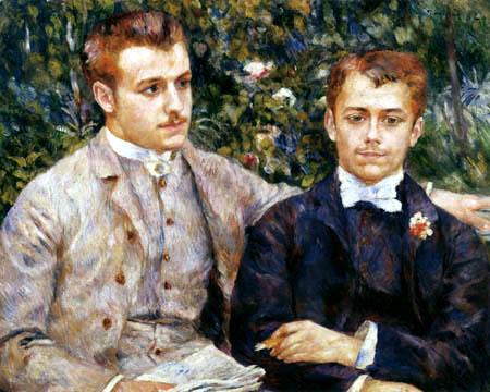 Pierre Auguste Renoir - Charles and Georges Durand-Ruel