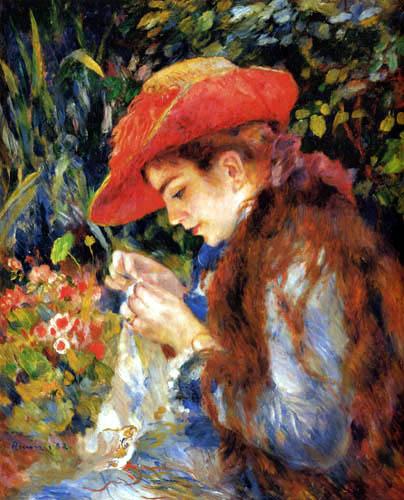 Pierre Auguste Renoir - Mademoiselle Marie-Thérèse