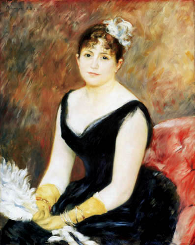 Pierre Auguste Renoir - Madame Clapisson