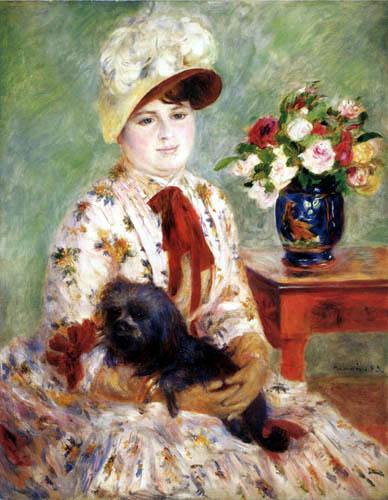 Pierre Auguste Renoir - Madame Hagen