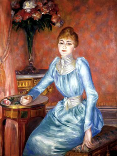 Pierre Auguste Renoir - Madame de Bonnières